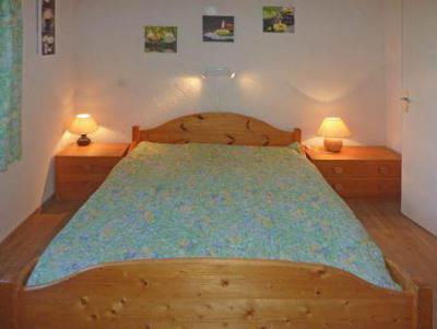 Holiday in mountain resort 2 room apartment 6 people (450) - Résidence la Chamoisière - Les Orres - Double bed