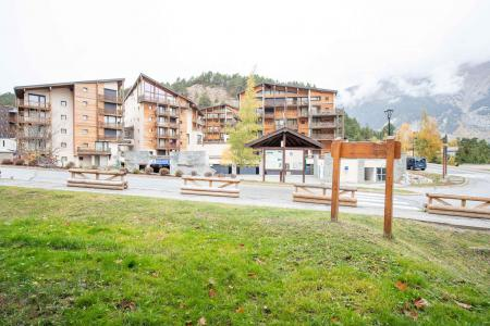 Rent in ski resort 3 room mezzanine apartment 10 people (CH02C) - Résidence la Chapelle - La Norma - Summer outside
