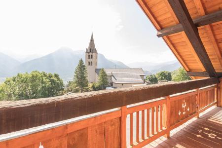 Vacances en montagne Appartement 4 pièces mezzanine 12 personnes - Résidence la Clé des Champs - Serre Chevalier - Extérieur été