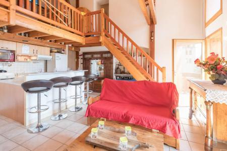 Vacances en montagne Appartement 4 pièces mezzanine 12 personnes - Résidence la Clé des Champs - Serre Chevalier - Banquette