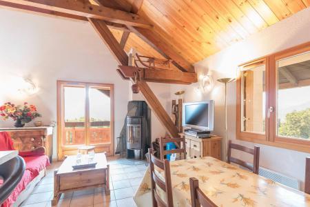 Vacances en montagne Appartement 4 pièces mezzanine 12 personnes - Résidence la Clé des Champs - Serre Chevalier - Table