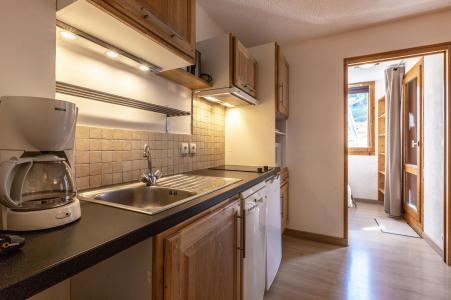 Vacances en montagne Studio cabine 5 personnes (039) - Résidence la Clé - Montchavin La Plagne - Cuisine ouverte