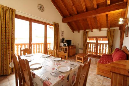 Vacances en montagne Appartement 3 pièces 6 personnes (517) - Résidence la Combe IV - Aussois - Séjour