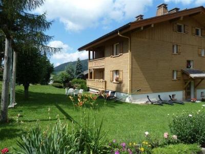 Soggiorno sugli sci Appartamento 3 stanze per 5 persone (302) - Résidence la Corbeille d'Argent - Le Grand Bornand - Esteriore estate