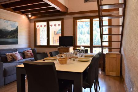 Vacances en montagne Appartement duplex 5 pièces cabine 8 personnes (J4) - Résidence la Croix de Verdon - Méribel - Logement