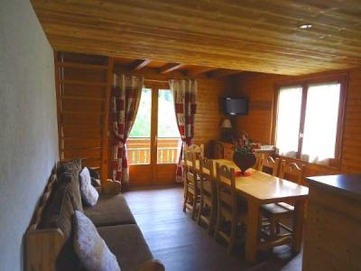 Holiday in mountain resort 4 room duplex apartment cabin 7 people (1652) - Résidence la Duche - Le Grand Bornand - Dining area