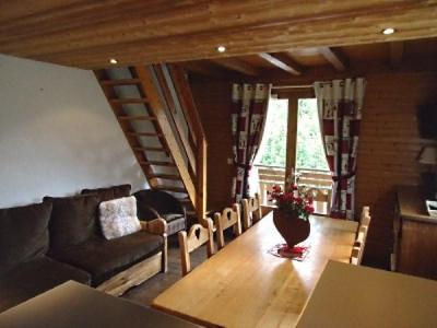 Holiday in mountain resort 4 room duplex apartment cabin 7 people (1652) - Résidence la Duche - Le Grand Bornand - Table