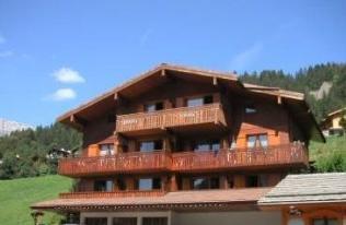 Location au ski Studio cabine 4 personnes (1724) - Residence La Duche - Le Grand Bornand - Extérieur été