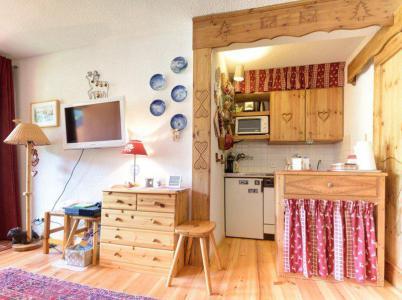 Holiday in mountain resort Studio sleeping corner 4 people (B54) - Résidence la Ferme d'Augustin - Montgenèvre