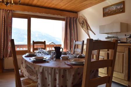 Vacances en montagne Appartement 3 pièces 6 personnes (20) - Résidence la Forêt - Méribel - Salle à manger