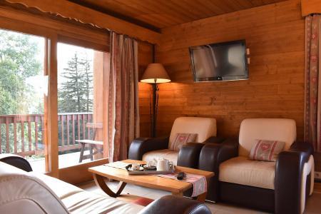 Vacances en montagne Appartement 3 pièces 6 personnes (20) - Résidence la Forêt - Méribel - Séjour
