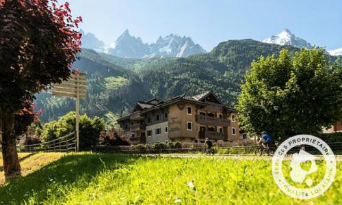 Location au ski Résidence la Ginabelle - Maeva Home - Chamonix - Extérieur été
