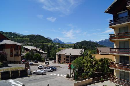 Аренда на лыжном курорте Квартира студия со спальней для 4 чел. (102) - Résidence la Grande Chaume - Sauze - Super Sauze - летом под открытым небом