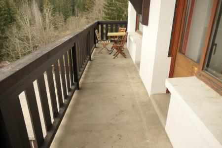 Аренда на лыжном курорте Апартаменты 2 комнат 4 чел. (33B) - Résidence la Grande Cordée - Combloux - летом под открытым небом