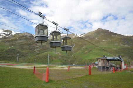 Vacances en montagne Résidence la Grande Masse - Les Menuires - Extérieur été