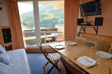Vacances en montagne Studio 3 personnes (205) - Résidence la Grande Masse - Les Menuires - Table