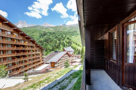 Location au ski Studio 3 personnes (019) - Résidence la Grande Rosière - Méribel-Mottaret - Extérieur été