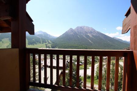 Rent in ski resort 2 room duplex apartment 5 people (RUFIN10) - Résidence La Grosse Pierre - Montgenèvre - Summer outside