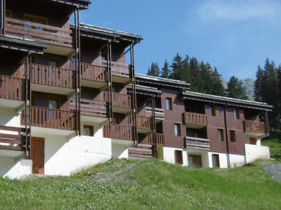 Location au ski Résidence la Lauzière Dessus - Valmorel - Extérieur été