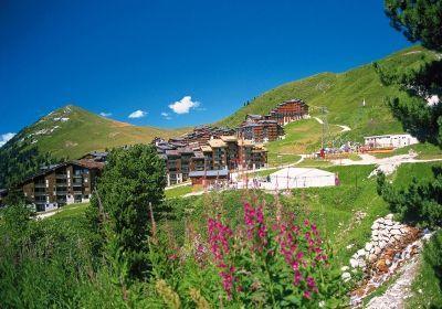 Location au ski Residence La Licorne - La Plagne - Extérieur été