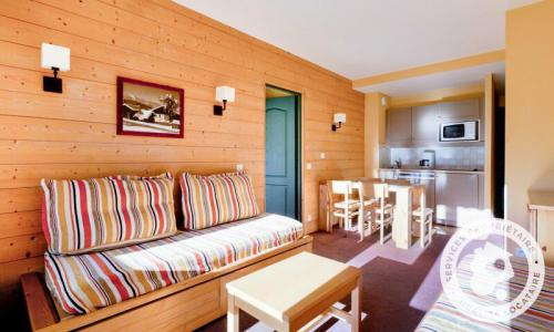 Location au ski Appartement 2 pièces 5 personnes (Sélection 33m²) - Résidence la Marelle et Le Rami - Maeva Home - Montchavin La Plagne - Extérieur été