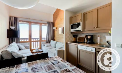 Location au ski Appartement 2 pièces 5 personnes (Prestige 36m²-4) - Résidence la Marelle et Le Rami - Maeva Home - Montchavin La Plagne - Kitchenette