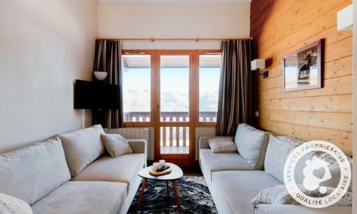 Location au ski Appartement 2 pièces 5 personnes (Prestige 36m²-4) - Résidence la Marelle et Le Rami - Maeva Home - Montchavin La Plagne - Salle d'eau