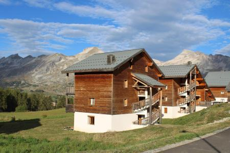 Rent in ski resort Résidence la Marmotte la Crête du Berger - La Joue du Loup - Summer outside
