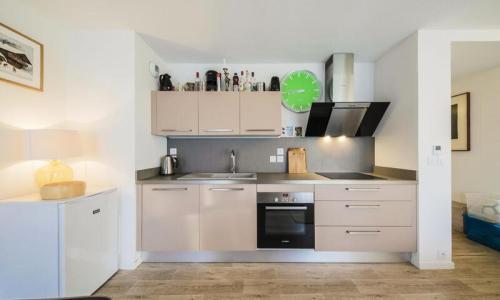 Wakacje w górach Apartament 3 pokojowy 8 osób (Confort 60m²-2) - Résidence la Petite Ourse - Maeva Home - Flaine - Aneks kuchenny