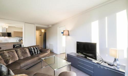 Wakacje w górach Apartament 4 pokojowy 6 osób (Sélection 100m²-3) - Résidence la Petite Ourse - Maeva Home - Flaine - Pokój gościnny