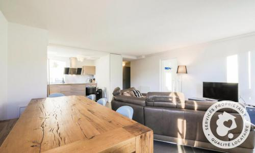 Wakacje w górach Apartament 4 pokojowy 6 osób (Sélection 100m²-3) - Résidence la Petite Ourse - Maeva Home - Flaine - Na zewnątrz latem