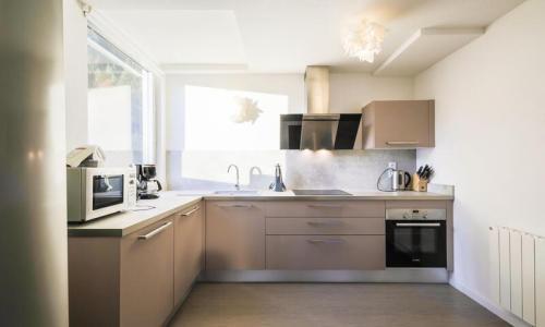 Wakacje w górach Apartament 4 pokojowy 6 osób (Sélection 100m²-3) - Résidence la Petite Ourse - Maeva Home - Flaine - Aneks kuchenny