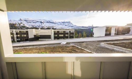 Wakacje w górach Studio 3 osoby (Sélection 30m²) - Résidence la Petite Ourse - Maeva Home - Flaine - Na zewnątrz latem
