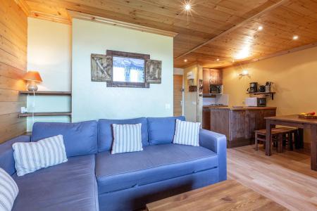 Vacances en montagne Studio 4 personnes (026) - Résidence la Roche Combe - Valmorel - Banquette