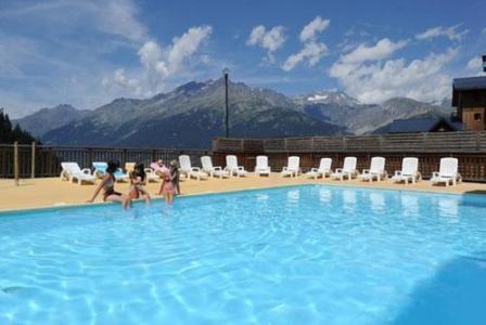 Rent in ski resort Résidence la Turra - Valfréjus - Summer outside