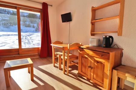Vacances en montagne Studio 2 personnes (C6) - Résidence Lac Blanc - Méribel-Mottaret