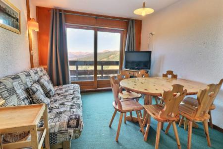 Vacances en montagne Appartement duplex 3 pièces 6 personnes (F9) - Résidence Lac Blanc - Méribel-Mottaret - Séjour