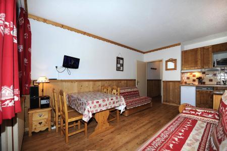 Vacances en montagne Studio 4 personnes (021) - Résidence Lac du Lou - Les Menuires