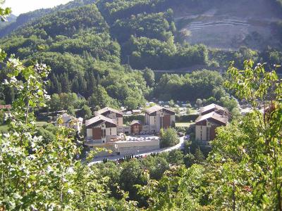 Vacances en montagne Résidence Lagrange Cybèle - Brides Les Bains - Extérieur été