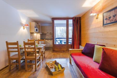 Vacances en montagne Résidence Lagrange Cybèle - Brides Les Bains - Canapé