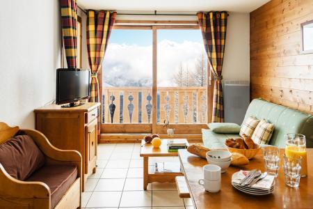 Vacances en montagne Résidence Lagrange l'Arollaie - Peisey-Vallandry - Coin repas