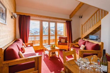 Vacances en montagne Résidence Lagrange l'Ecrin des Sybelles - La Toussuire - Banquette