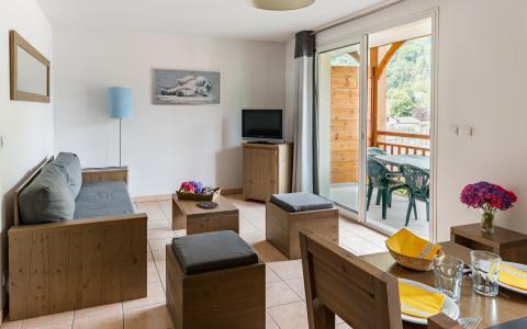 Vacances en montagne Résidence Lagrange le Belvédère - Luchon-Superbagnères - Coin séjour