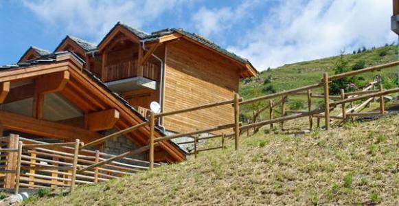 Location au ski Residence Lagrange Le Grand Panorama 2 - Valmeinier - Extérieur été