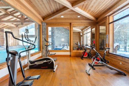 Vacances en montagne Résidence Lagrange le Hameau du Rocher Blanc - Serre Chevalier - Espace fitness