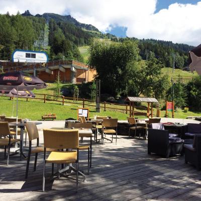 Vacances en montagne Résidence Lagrange le Roc Belle Face - Les Arcs - Extérieur été