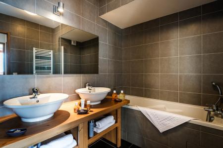 Vacances en montagne Résidence Lagrange le Roc Belle Face - Les Arcs - Salle de bains