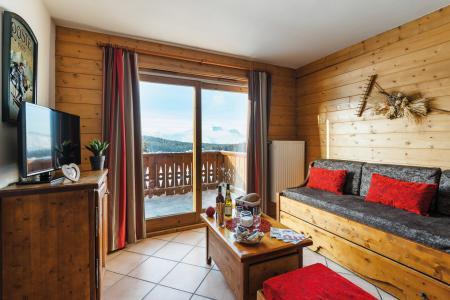 Vacances en montagne Résidence Lagrange le Village des Lapons - Les Saisies - Banquette