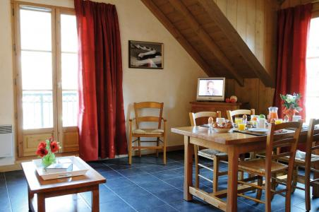 Vacances en montagne Résidence Lagrange les Arolles - Saint Gervais - Coin repas