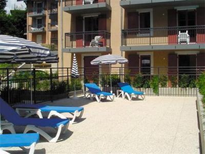 Location au ski Residence Lagrange Les Arolles - Saint Gervais - Extérieur été
